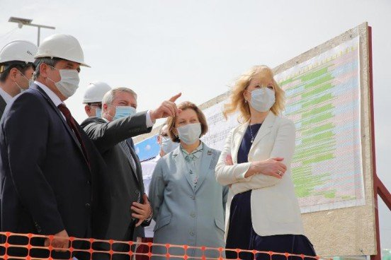 Новая инфекционная больница под Ростовом откроется в первой половине 2021 г.