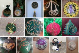 100 работ участвуют в конкурсе новогодней игрушки в этностиле в Адыгее