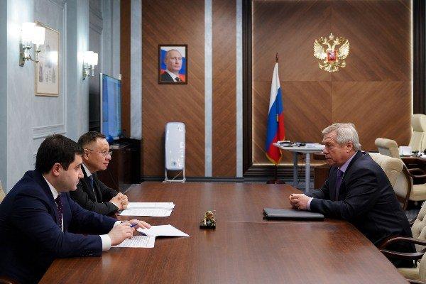 В. Голубев обсудил в Минстрое РФ увеличение объема жилищного строительства