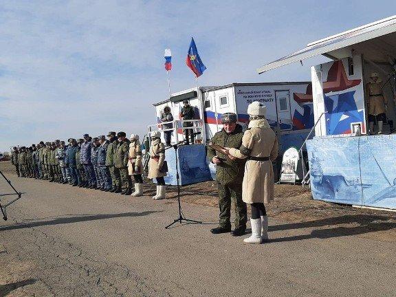 В Волгоградской области прошли учения ЮВО