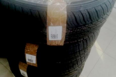 В Волгограде продавали шины с неправильно нанесенной маркировкой