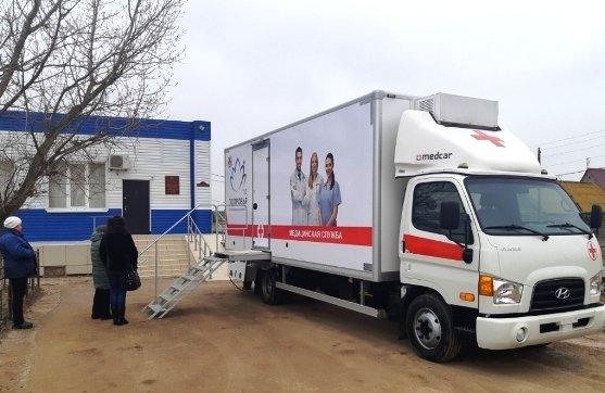 В Астраханской области работают передвижные маммографы