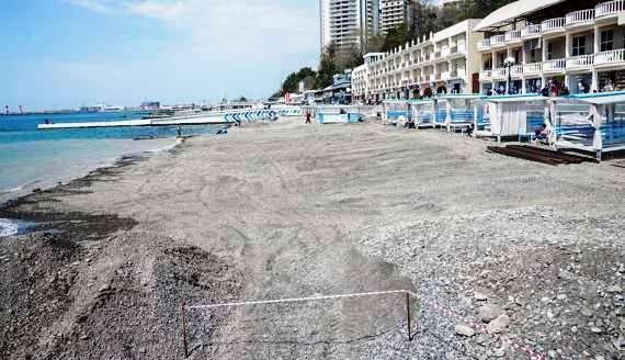 В курортном сезоне в Сочи будут доступны 200 пляжей
