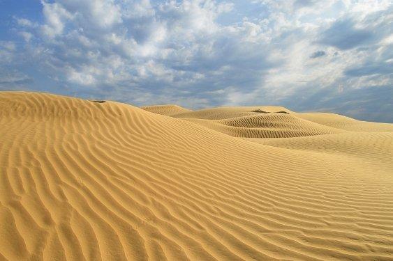 Астраханской области угрожает пустыня
