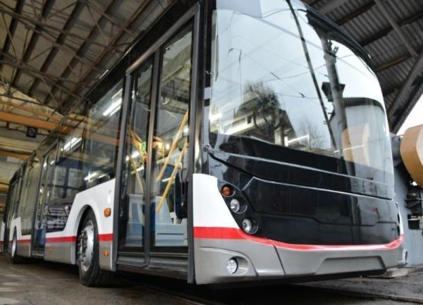 Троллейбус краснодарской сборки на 98% состоит из новых комплектующих