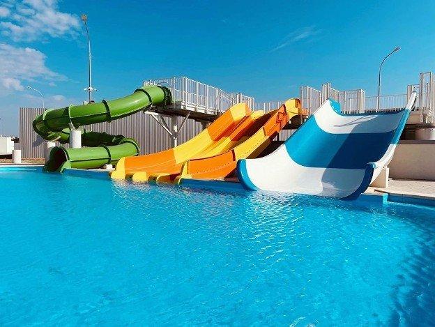 В Волгограде открылся аквапарк