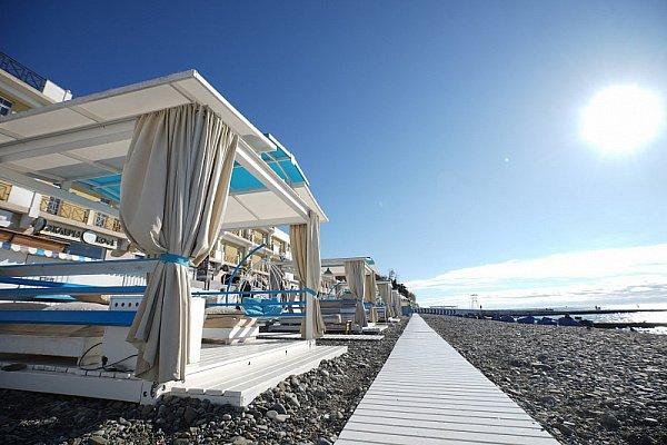 30 зимних пляжей будут работать в Сочи